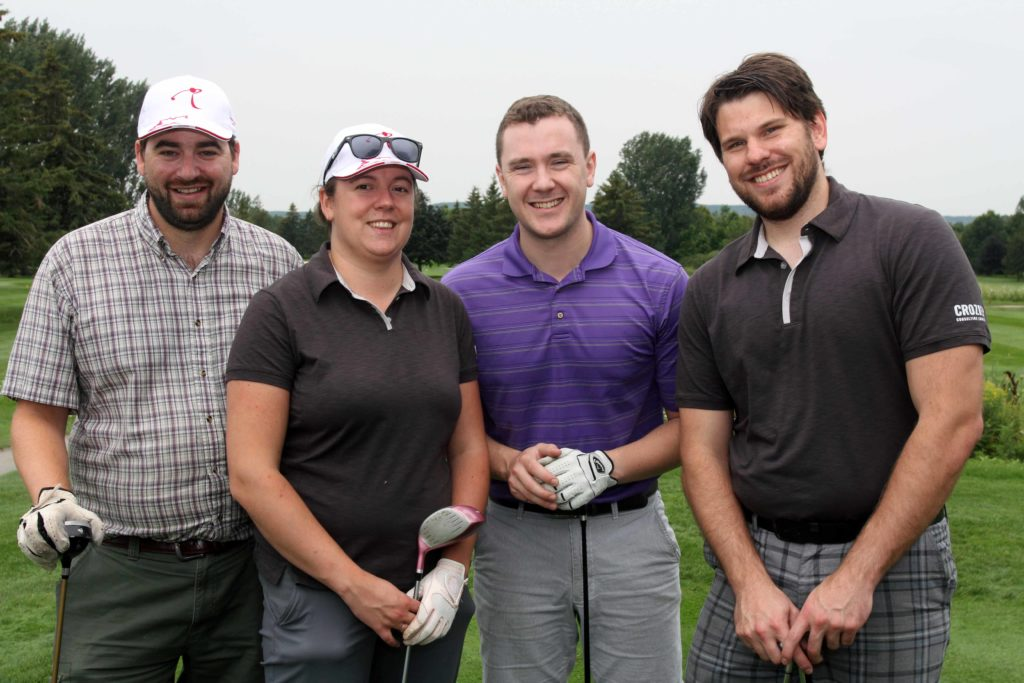 Crozier & Associates' Team of Golfers