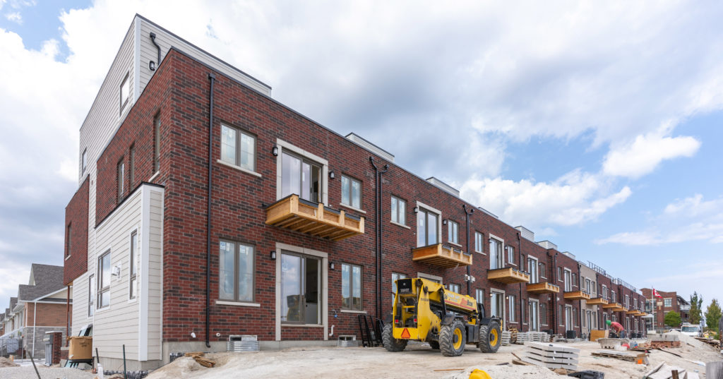 Residential development in Collingwood, ON